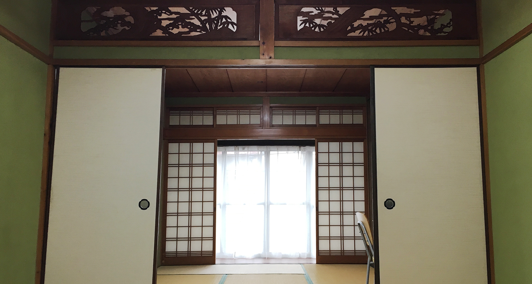Japanese style room in Share House Fuse